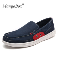 New Big Size 48 Men Casual Shoes Brand Slip On Mens Canvas Sneakers Blue Green Men