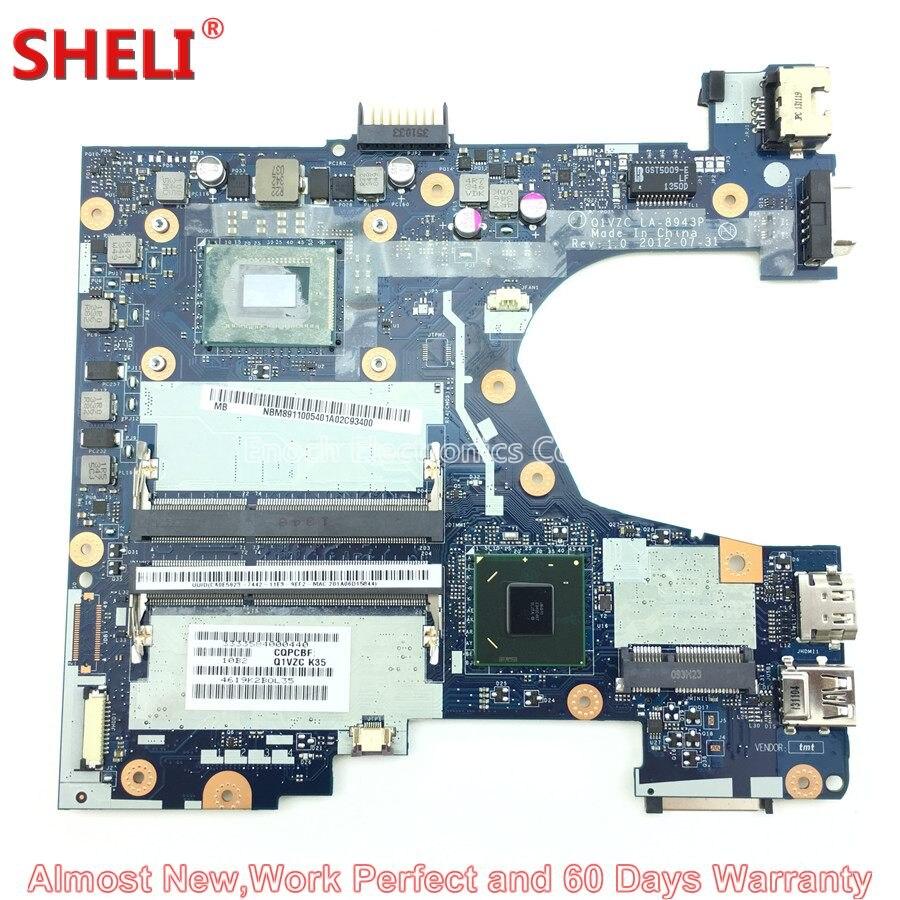 SHELI NBM8911005 NB.M8911.005 Laptop Motherboard For Acer Aspire V5-131 V5-171 Q1VZC LA-8943P 1017U Main Board System Board sheli nbm8911005 nb m8911 005 laptop motherboard for acer aspire v5 131 v5 171 q1vzc la 8943p 1017u main board system board