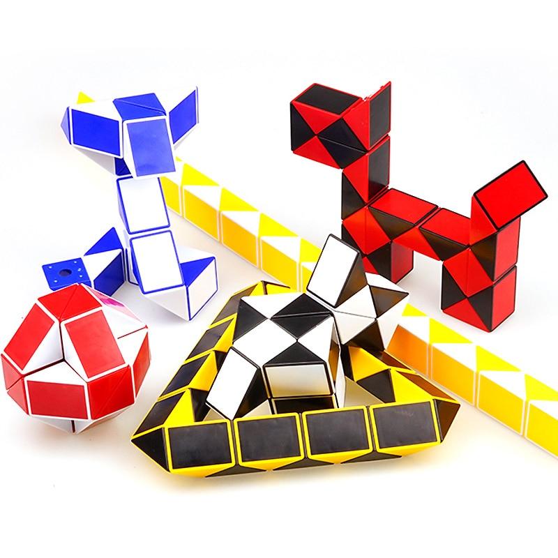 Magic Cubes Shengshou Magic Snake Magic Cube Mega Neo Cubo Magico Minx 24 Blocks High Speed For Fun Antistress Toy Puzzle Toy