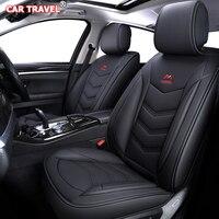 Luxury Leather car seat cover for fiat 500x albea croma freemont linea fiorino linea panda palio fiorino Automobiles Seat Covers