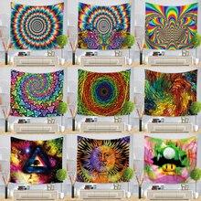 Hongbo Geometrische Kleurrijke Dekens Tapijt Muur Opknoping Bohemian Sprei Deken Dorm Home Decor Mantas Mandalas