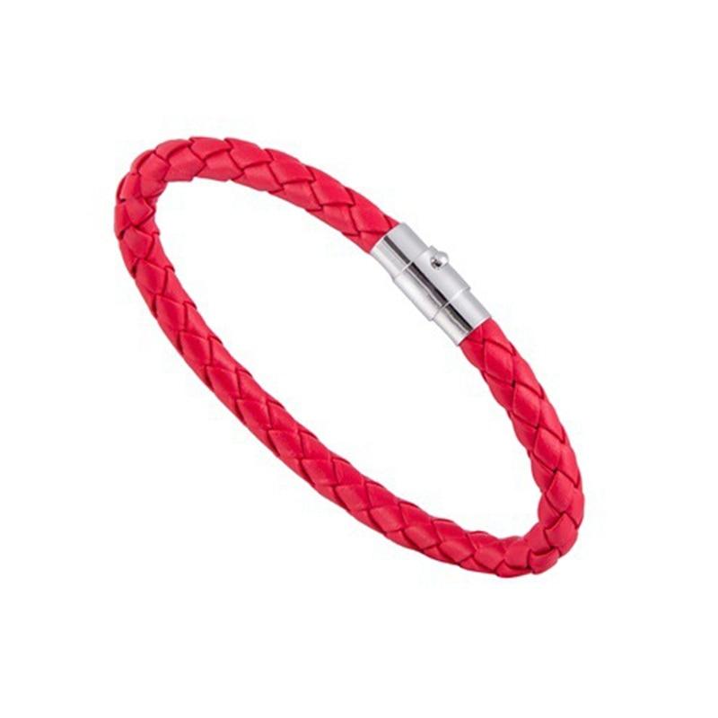 Mdiger Bracelet Fashion Men Leather Bracelet Brand New Trendy Bracelets with Magnet Drop Shipping
