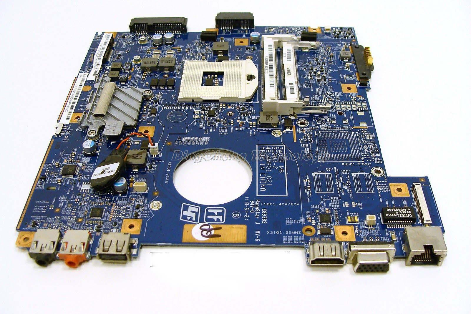цена на SHELI MBX 250 laptop Motherboard For Sony VPCEG MBX-250 48.4MP01.021 A1829659A for intel cpu with integrated graphics card