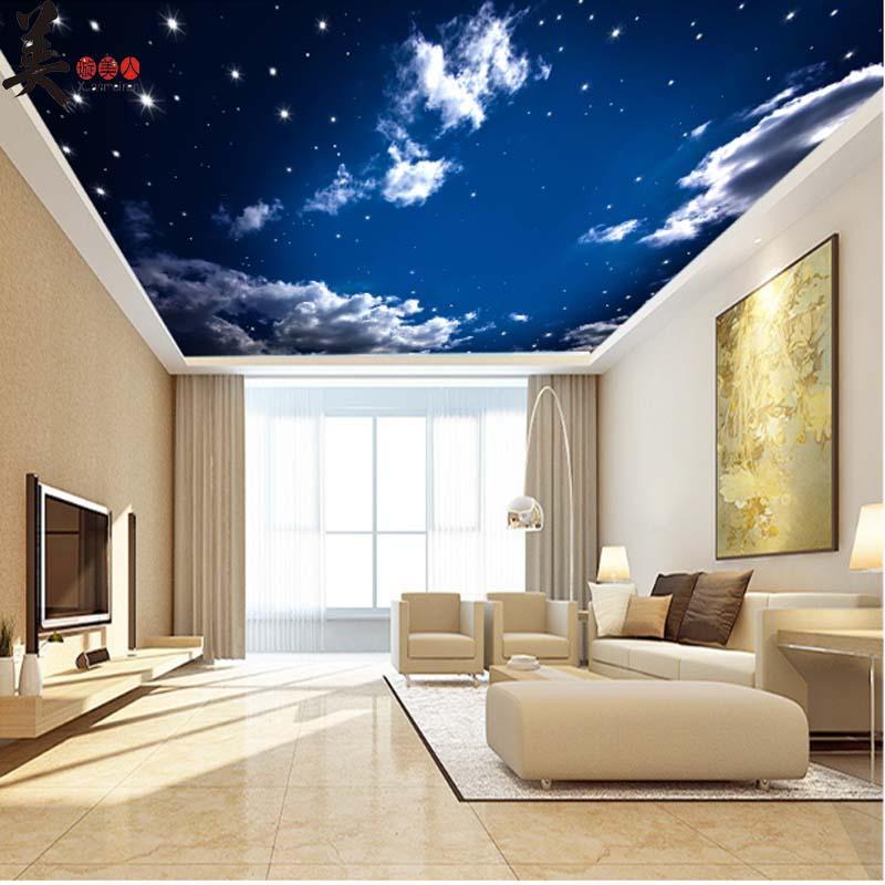 Decke Tapete Sternenhimmel Schönsten Einrichtungsideen
