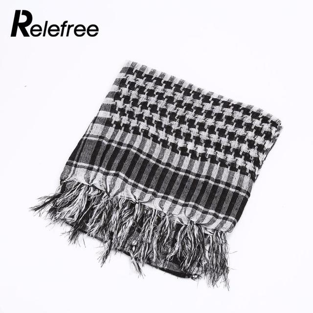 Relefree Outdoor Hiking Scarves Military Arab Tactical Desert Scarf Army  Shemagh KeffIyeh Shawl Scarve Neck Wrap 2d928d8b2968