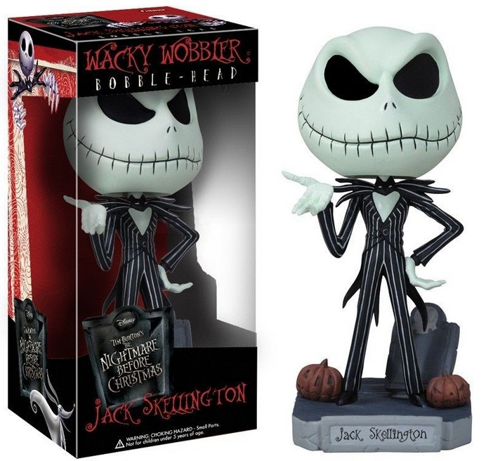 The Nightmare Before Christmas Jack  Cute Jack Skellington PVC Action Figure Collectible Model Toy 16cm KT2638 neca a nightmare on elm street 2 freddy s revenge 3 dream warrior freddy krueger pvc action figure collectible model toy 50cm