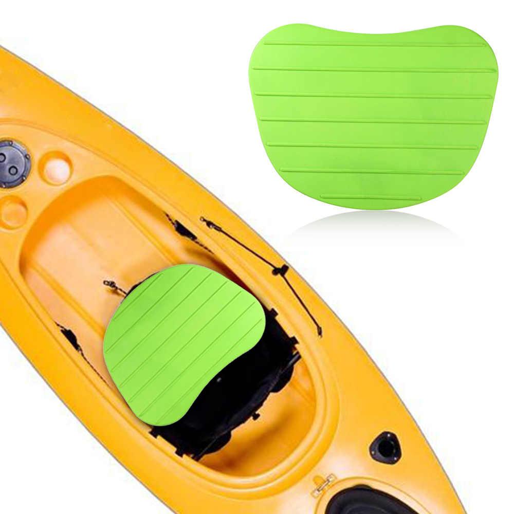 ソフト滑り止めインフレータブルボートカヤックシートクッションサポートパッド入りcushionyシートベースで4小道具カヌー漕ぎボートクッションシート