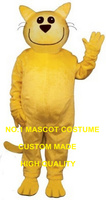 זחוח חיוך חתול קמע תלבושות קריקטורה מכירה חמה סיטונאי קרנבל פנסי תלבושות cosplay אנימה dress ערכות נושא חתול צהוב 2785