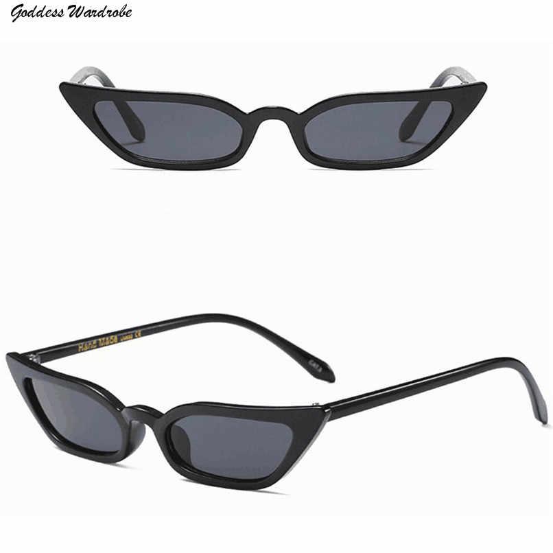 Uv400 نظارات القط العين خمر الرجعية إطار نظارات ظلال صغيرة للرجال والنساء في الرياضة نظارات أزياء السيدات 4E10 # f #