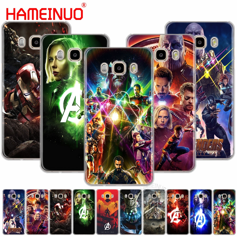 HAMEINUO avengers infinity war cover phone case for Samsung Galaxy J1 J2 J3 J5 J7 MINI ACE 2016 2015 prime