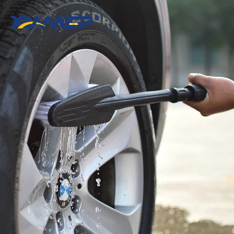 فرشاة غسيل السيارات تدفق المياه فرشاة النوافذ أدوات تنظيف السيارات تنظيف الإطارات فرشاة استبدال رؤساء مفاصل توصيل الانابيب المياه Xammep