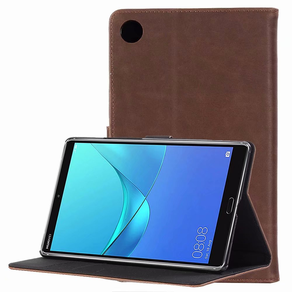 1Pcs/Lot Retro Crazy Horse Book Style Leather Case With Stand For Huawei Mediapad M5 8.4 TD-LTE SHT-AL09 32GB