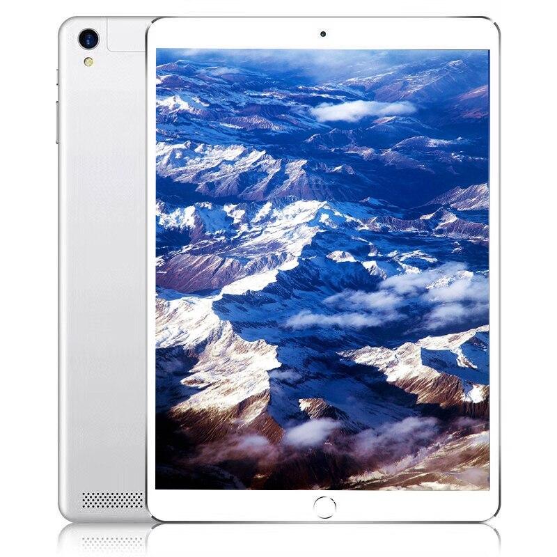 Livraison Gratuite Origine 10.1 pouces 4G LTE FDD tablette téléphone PC 10 Core RAM 4 GB ROM 64 GB 1920*1200 IPS Double SIM carte comprimés pièces