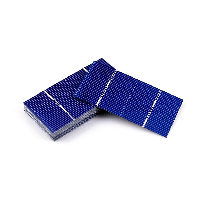 Solar cells 100 pcs diy solar panel, 78x39mm polycrystalline by Jslinter