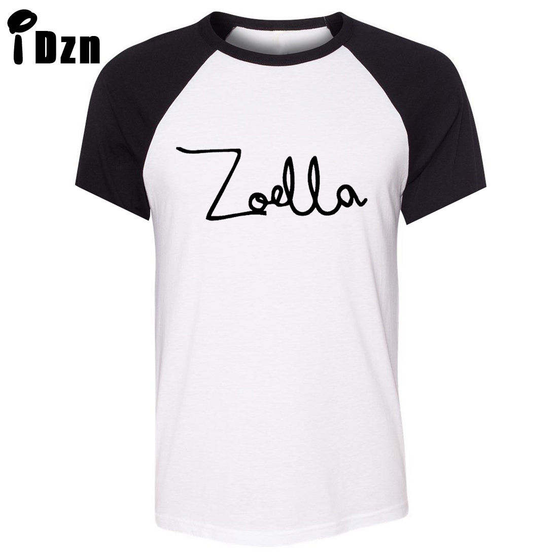 summer short sleeve t shirt zoe sugg youtube zoella vlog fashion just say yes beauty art pattern. Black Bedroom Furniture Sets. Home Design Ideas