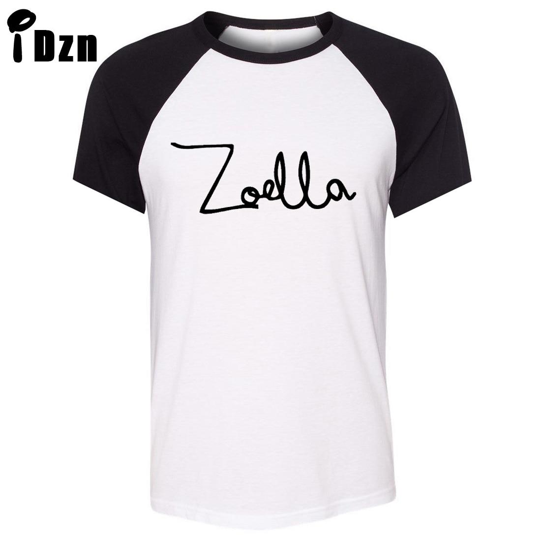 T shirt design youtube - Best Fashion Summer Short Sleeve T Shirt Zoe Sugg Youtube Zoella Vlog Fashion Just Say Yes Beauty Art Pattern Unisex T Shirt Casual Tee Tops