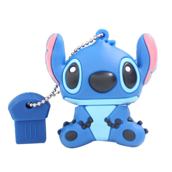 Gift for friend- blue/pink Stitch USB 2.0 Flash Drives thumb pendrive usb flash drive U disk /High speed/ wholesale1GB-64GB S38