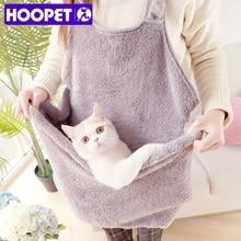 HOOPET кошка мешок спальный Рюкзак дышащий вне порта Портативный Наплечные сумки для кошек товары для домашних животных