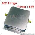 5000nW poder, velocidade de 150 mbps 802.11b/g/n internet wifi 2.4 Ghz repetidor, 2.4 Ghz impulsionador, wi-fi repetidor amplificador 5 W amplificador de banda larga