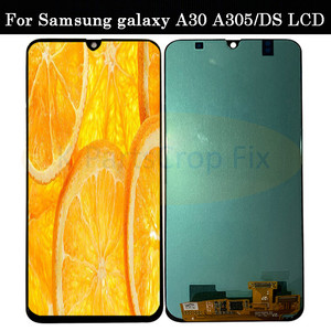 Image 2 - Super AMOLED For Samsung galaxy A30 lcd 2019 Touch Screen Digitizer Assembly A305/DS A305F A305FD A305A SM A305F/DS with frame