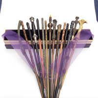 Neue Kommen Metall Eisen Core Narcissa Zauberstab Harry Potter Magie Magische Stab Elegante Band Geschenk Box Verpackung