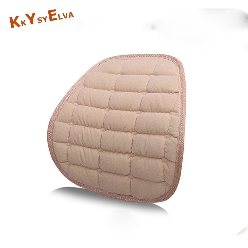 KKYSYELVA Lumbar Support for office Chair Seat Supports for Back Seat Lumbar cushion for car Back