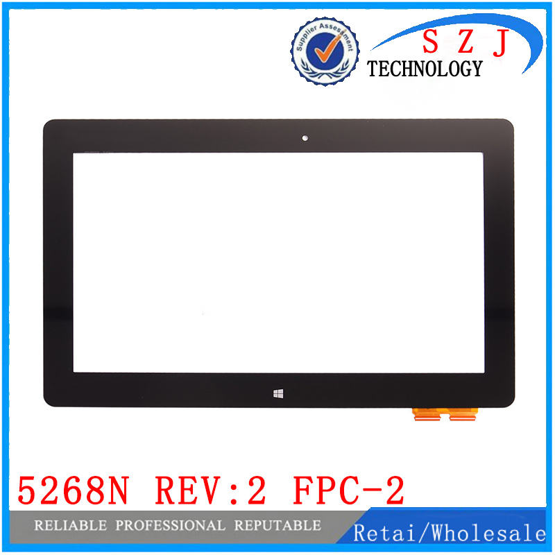 ФОТО New 10.1'' inch For Asus VivoTab Smart ME400 ME400C 5268N REV:2 FPC-2 Touch Panel Screen Glass Lens Replacement Free Shipping