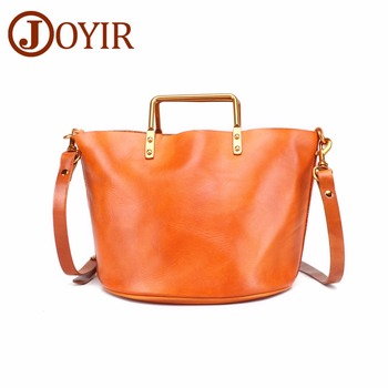 JOYIR Woman Genuine Leather Handbag Female Casual Tote Bag Small Shoulder Ladies Messenger Crossbody Bags For Women