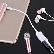 3.5mm Jack 1 Male to 2 Female Audio Headphone Earphone Earbud Y Splitter Cable