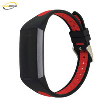 hot deal buy kingbeike 7 colors sport silicone watchband for fitbit charge 3 bracelet smart watches wristbands strap replacement band