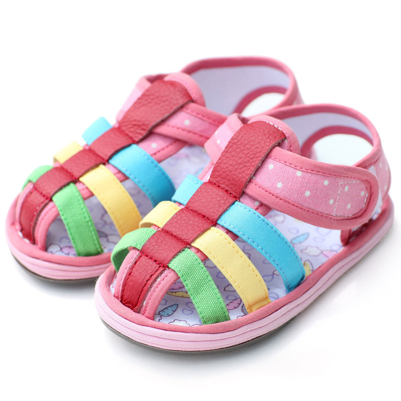 Rainbow Sandals Children Shoes Kids Sandals For Baby Girls