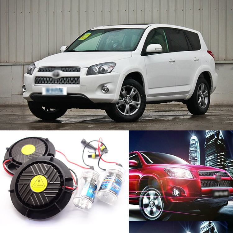 iPobooTech New Generation All In One lower Beam Error Free 9005 HID Lights For Toyota RAV4
