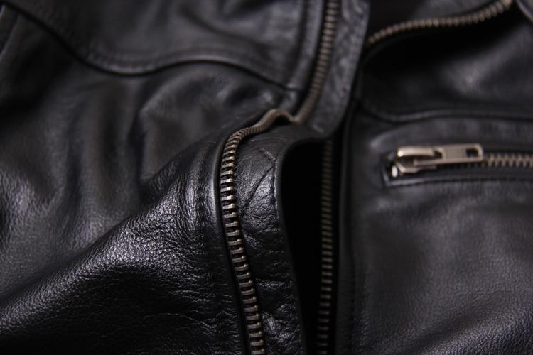 HTB1SDe7XojrK1RkHFNRq6ySvpXam Free shipping.New style warm mens clothes,motor biker leather Jackets,man black genuine Leather jacket.homme slim,cool,sales