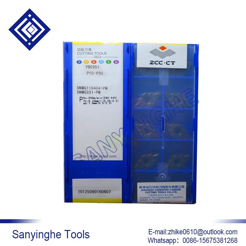 free shipping high quality 10pcs lots DNMG110412 PM YBC252 cnc carbide turning inserts cnc blade lathe