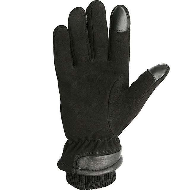 OZERO Touch Screen Motorcycle Gloves, Genuine Deerskin, Men / Women