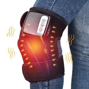 Image 2 - Dispositif de Massage à infrarouge lointain pour genou, dispositif de thérapie par Vibration, appareil de Massage pour articulations, épaules, arthrite