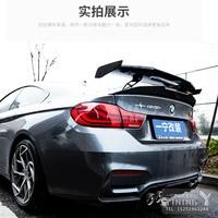 For BMW Audi Benz M2 M3 M4 A3 A4 A5 W205 W204 ABS plastic Modified 4 Door Sedan Universal Rear Trunk Spoiler