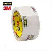 3m Scotch 1 рулон Высокая прозрачный уплотнительная лента 48 мм * 50 м 48 мм * 100 мм прозрачная упаковка ленточная ткань высокой вязкостью