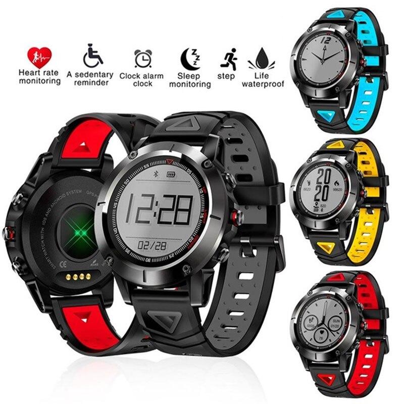 New Smart Watch GPS Men's Watch Heart Rate Blood Pressure Sleep Monitor Pedometer Multi sports Mode IP68 Swimming Smartwatch Smart Watches     -