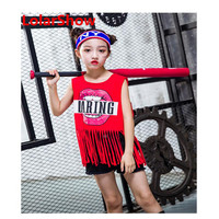 Popular star graphic hip hop costumes jazz dance outfits