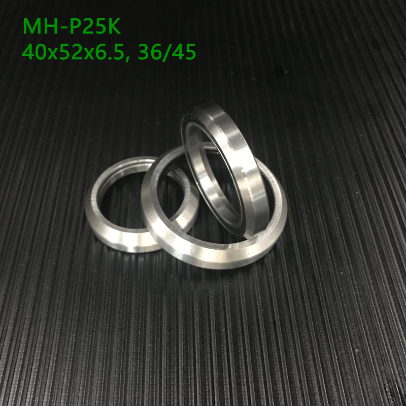 Free Shipping 1-1/2 1.5 38.1mm Bicycle Headset Bearing Mh-p25k Acb25k Hd1404k 40x52x6.5, 36/45 For Cane Creek 40 Series Headse
