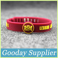 Fashion high quality adjustable silicone band LEBRON JAMES rubber bracelet NO23 'CHOSEN 1' basketball player silicone wristband
