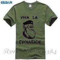 XSR PD Che Guevara Beret Darwin SCIENCE Short Sleeve T Shirt Top Lycra Cotton Men T