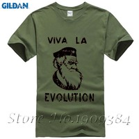 XSR PD Che Guevara Beret Darwin SCIENCE Short Sleeve T Shirt Top Lycra Cotton Men T