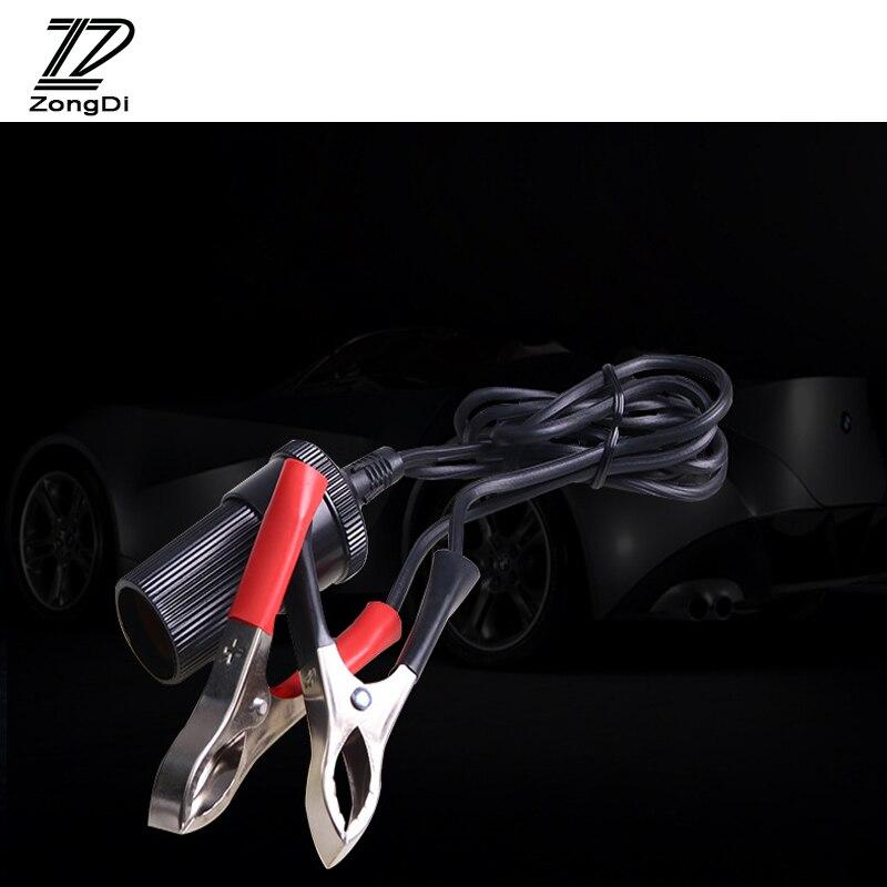 zd 1x car alligator clip cable battery tran to cigarette. Black Bedroom Furniture Sets. Home Design Ideas