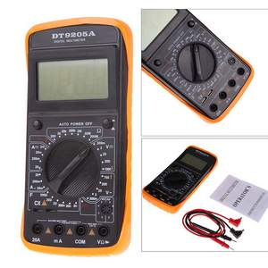 DT9205A Digital Multimeter LCD AC/DC Ammeter Resistance Capacitance Testerr Diagnostic-tool High Quality