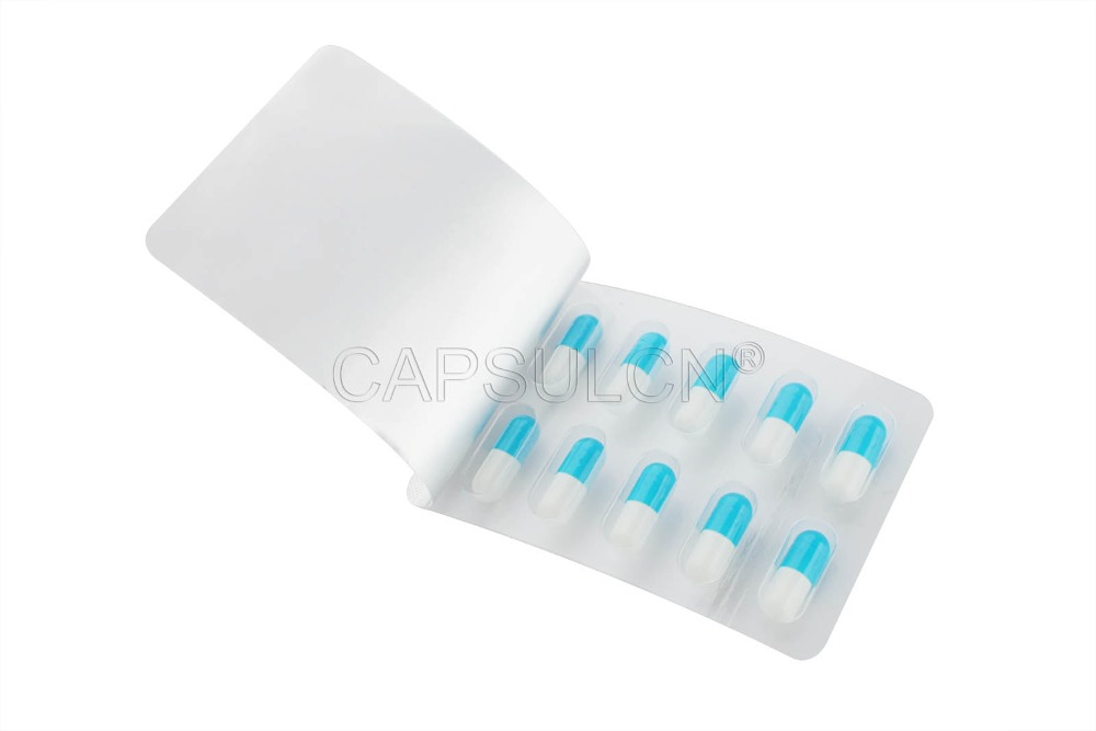 10 holes Capsules Blister Pack for Size 0 capsules 232pcs Capsule Blister Packing Sheet