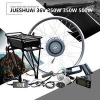 36V 250W 350W 500W elektryczne koło silnikowe zestaw do roweru elektrycznego z akumulatorem 10A 12Ah zestaw do zamiany na rower elektryczny Motor Electrico do roweru w Rowery elektryczne od Sport i rozrywka na