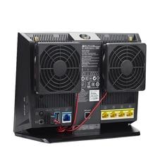 70 мм DC 5 V Вентилятор охлаждения Радиатор USB Мощность бесшумного рассеивать Контроль температуры для RT-AC68U EX6200 AC15 AC68U охладитель