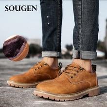 c9d88272d Botas de Neve do sexo masculino Adulto Tamanhos Grandes Sapatos de Inverno  Tamanho Grande para Homens